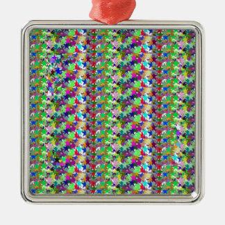 Elegant Multicolor STAR Pattern : Grace n Serenity Christmas Ornament