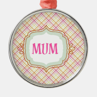 Elegant Mum Christmas Ornament