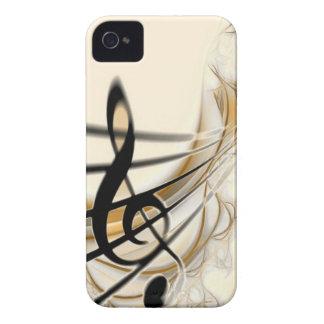 Elegant Musical Note iPhone 4 Cover