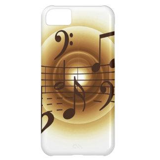 Elegant Musical Notes iPhone 5C Case