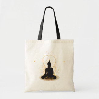 Elegant Namaste Buddha Tote Bag