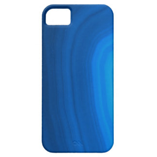 Elegant Name on Blue Agate iPhone Case