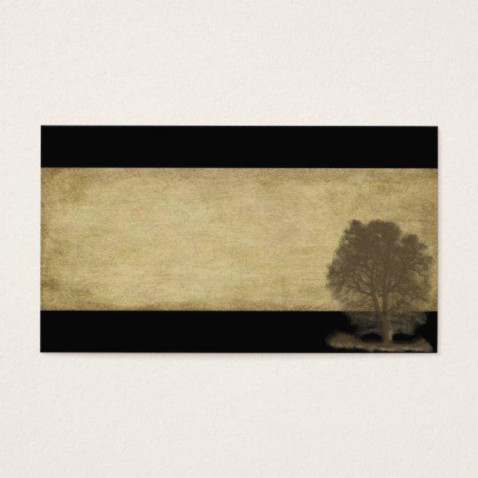 Elegant, Naturals, Two Tone Black & Tan-  Biz Card