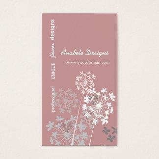 Elegant Nature Spring Summer Garden Floral Business Card