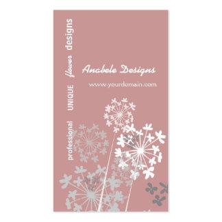 Elegant Nature Spring Summer Garden Flower Pack Of Standard Business Cards