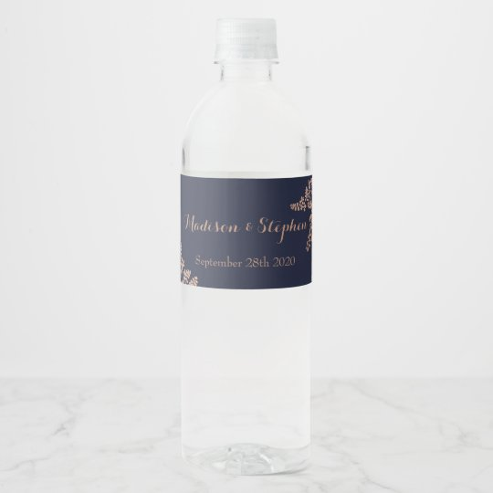 Wedding Water Bottle Label Template from rlv.zcache.co.uk