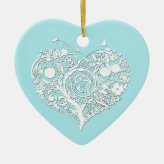 Elegant Newly Wed s First Christmas Ornament