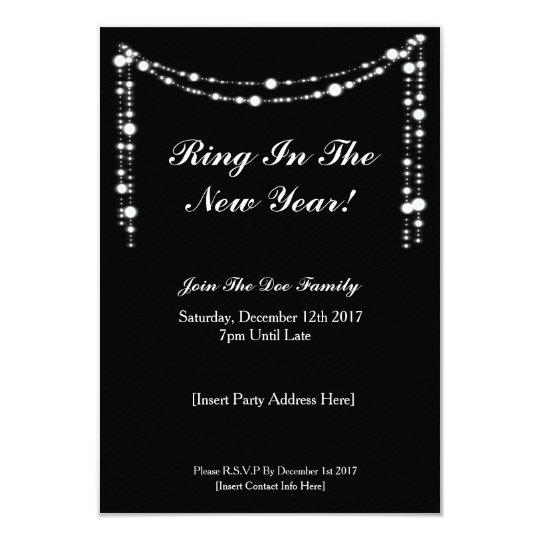 Elegant NYE Party Invite