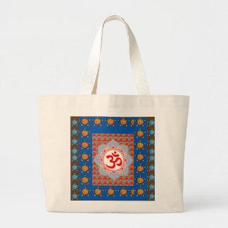 Elegant OmMANTRA Mantra Yoga Meditation Healing A Tote Bags