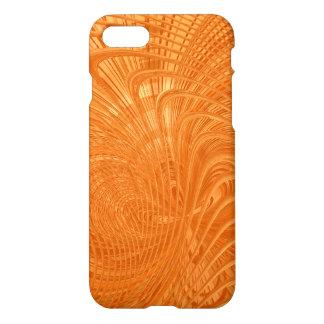 Elegant orange abstract Art Case