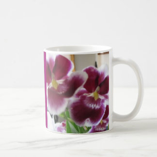 Elegant Orchid in Watercolor Mug
