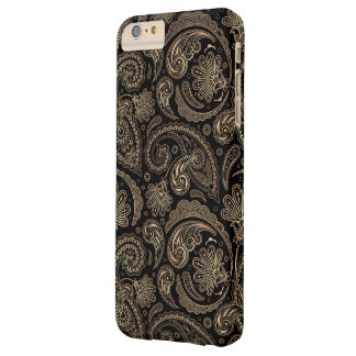 Elegant Paisley Vintage Damask Flowers Pattern Barely There iPhone 6 Plus Case