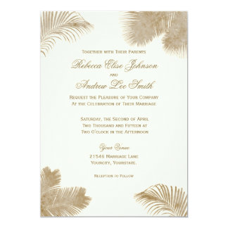 Elegant Palm Invitation