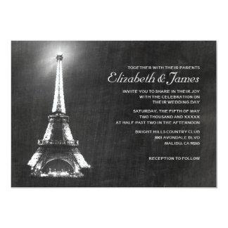 Elegant Paris Wedding Invitations
