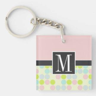Elegant Pastel Colors Key Chain