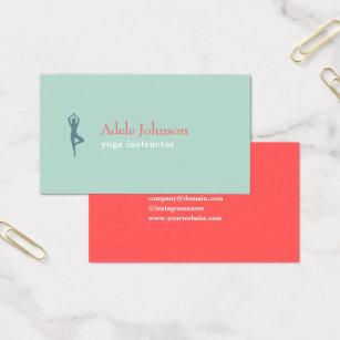 Yoga business cards business card printing zazzle uk elegant pastel colourful yoga instructor business card colourmoves