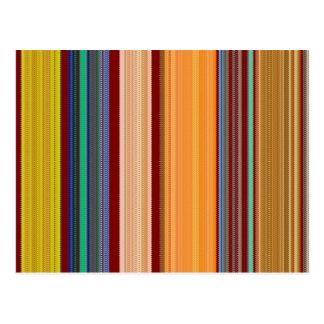 Elegant Pattern Colorful giveaway return+gifts FUN Post Card