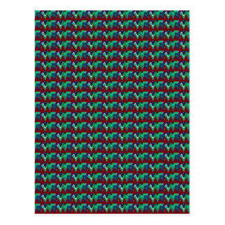 Elegant Pattern Colorful giveaway return+gifts FUN Postcard