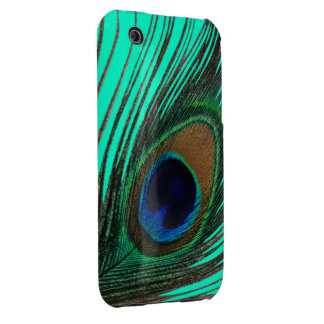 Elegant Peacock Feather iPhone 3G Case Case-Mate iPhone 3 Cases