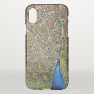 Elegant Peacock Feathers | iPhone X Deflector Case