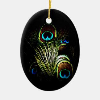Elegant Peacock Ornament Set 1121