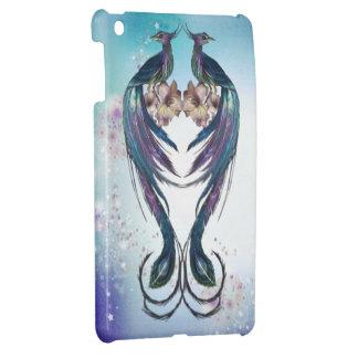 Elegant Peacocks Fantasy Art iPad Mini Cover For The iPad Mini