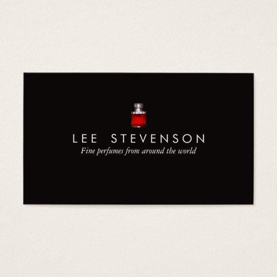 Elegant Perfume Business Card