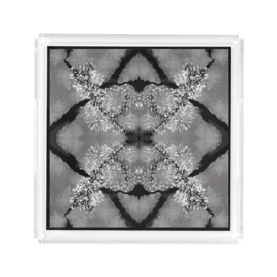 Elegant Perfume Tray - Women--Black/White/Grey