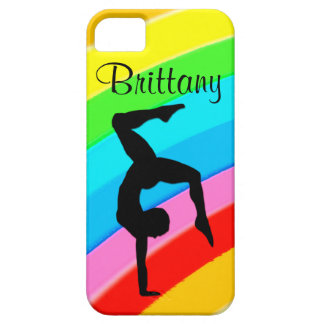 ELEGANT PERSONALIZED GYMNASTICS IPHONE CASE