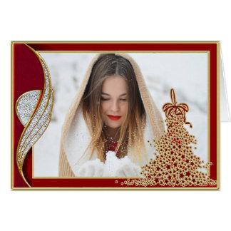 Elegant Photo Christmas Card