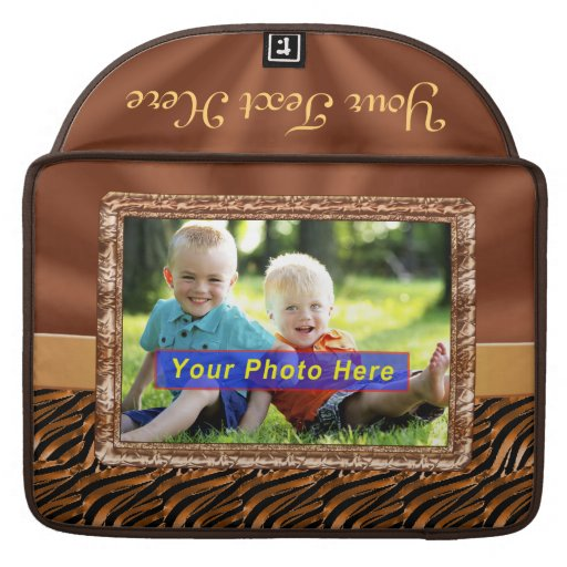 Elegant PHOTO Personalized Macbook Pro Cases Sleeve For MacBooks