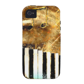 Elegant Piano Music & Notes iPhone 4 Covers
