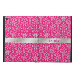 Elegant Pink and Silver iPad Air 2 Case