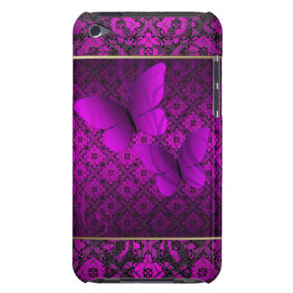 Elegant Pink Butterfly Kisses  iPod Case-Mate Case