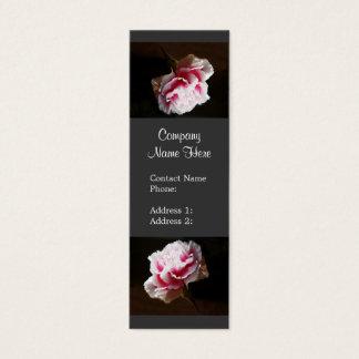 Elegant Pink Carnation Flower  Business Cards