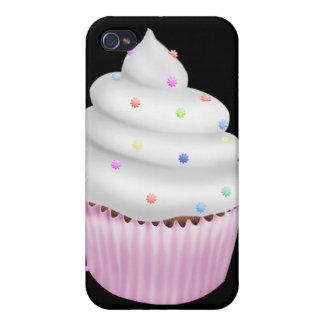Elegant pink cup cake elegant iPhone 4/4S case