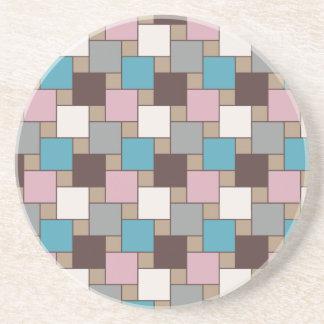 Elegant Pink Nectar Coaster
