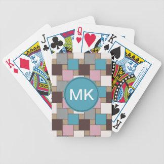 Elegant Pink Nectar Poker Cards