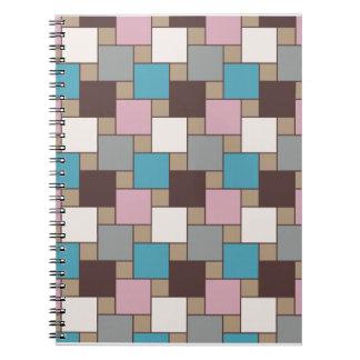 Elegant Pink Nectar Spiral Notebook