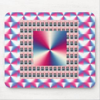 Elegant PINK Sparkle Diamond Graphics Mousepads