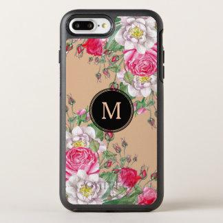 Elegant Pink Vintage Roses Design OtterBox Symmetry iPhone 8 Plus/7 Plus Case