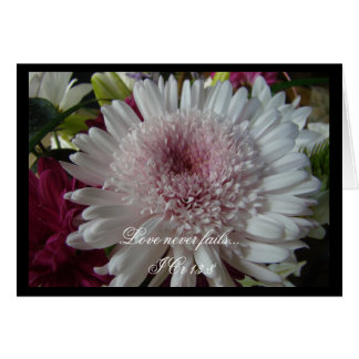 Elegant Pink  wedding invitaion Greeting Card