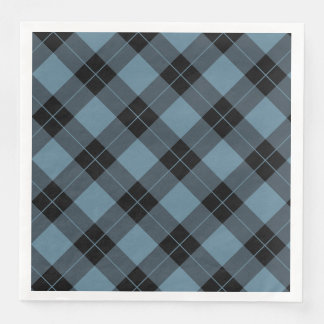 Elegant Plaid | Holiday Paper Napkins