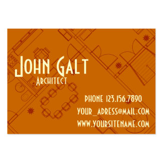 Elegant Professional Architect Business Cards