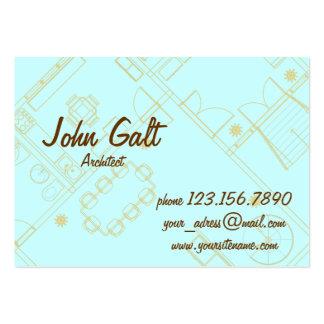 Elegant Professional Architect Business Card Template