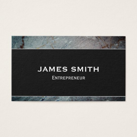 Elegant&Professional Granite Finish Business Card