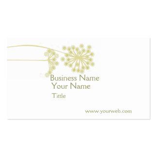 Elegant Professional Wild Flower Art Pack Of Standard Business Cards