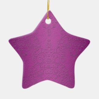 Elegant Purple Christmas Tree Ornaments