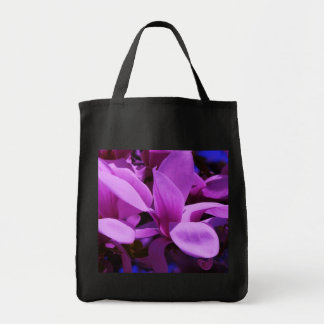 Elegant Purple Floral Fields Bag