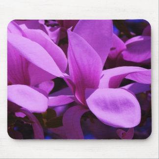 Elegant Purple Floral Fields Mouse Pads